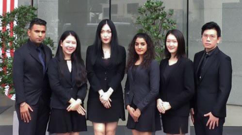 马来西亚吉隆坡移民公司员工风采