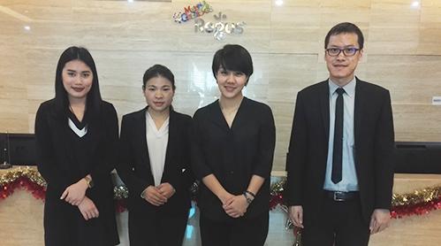 泰国代表处移民公司员工风采