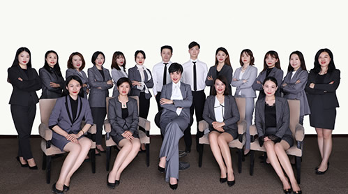 北京移民公司员工风采