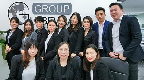 新加坡移民公司员工风采