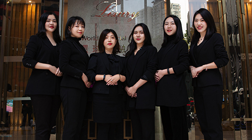 重庆移民公司员工风采