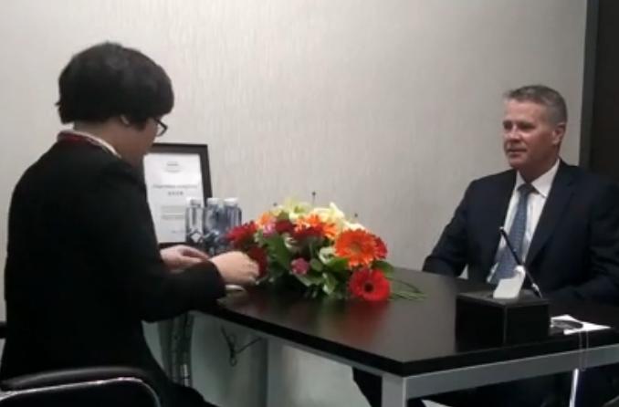 澳大利亚新州副州长到访环球接受采访