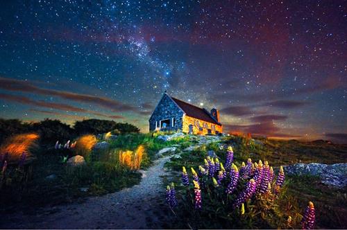 新西兰——长长白云缭绕的国度