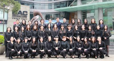 杭州移民公司员工风采