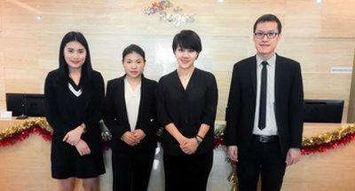 泰国移民公司员工风采