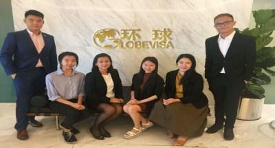吉隆坡移民公司员工风采